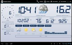 Weather Station v2.0.2 apk  Requirements: 2.2 and up  Overview: Fully Functional Weather Station