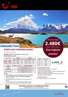Oferta Chile: Patagonia Chilena. 8 noches. De Marzo a Junio con LA.Precio final desde 2.480€ ultimo minuto - http://zocotours.com/oferta-chile-patagonia-chilena-8-noches-de-marzo-a-junio-con-la-precio-final-desde-2-480e-ultimo-minuto-5/