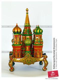 Набор-храм Василия блаженного © Николай Герасимов / Фотобанк Лори