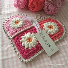 Soon it is Valentine's Day! To whom will you give your heart? This is my idea of a romantic heart. If you like it, you are welcome to use my pattern (in US English) for free! Welcome to my blog!  http://bautawitch.se/2014/02/08/diy-crochet-valentines-heart-by-bautawitch/
