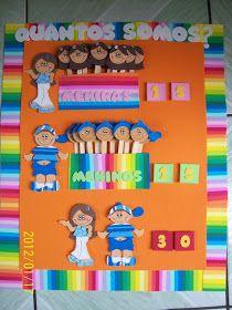 ALFABETIZAÇÃO CEFAPRO - PONTES E LACERDA/MT : Cartaz - Quantos Somos Craft Activities For Kids, Classroom Activities, Classroom Organization, Preschool Crafts, Classroom Decor, Crafts For Kids, Craft Stick Crafts, Diy And Crafts, Baby Park