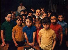 The second grade class at St. Brendan's Elementary School, The New York Times Magazine, March 12, 1967.