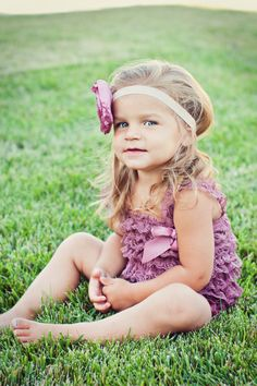 So cute!    Headband with matching petti romper by PrettyPetalsHair on Etsy, $25.95