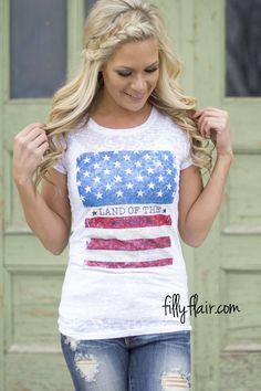 Land of the Free tee - Show your American Pride this summer!
