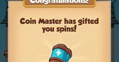 Today's 20 spin link here Master App, Coin Master Hack, Earn Money, Spinning, Coins, Internet, Kitty, Hacks, Free
