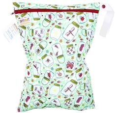 Smart Bottoms - Squigglybugs  Exclusive Wet Bag - Colten's Catch