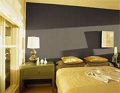 Kussen stip geborduurd - grijs/geel - 30x50 cm   Master Bedroom ...