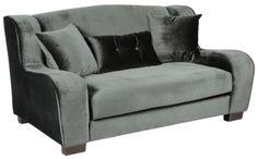 Метки: Маленькие диваны.              Материал: Ткань, Дерево.              Бренд: MHLIVING.              Стили: Классика и неоклассика.              Цвета: Серый, Черный.