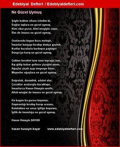 Ne Güzel Uymuş Şiiri Edebiyatdefteri.com sitesinde otomatik olarak oluşmuştur. Sizde şiirinizi otomatik e-kart yapın!