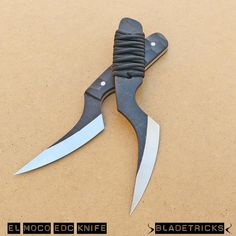 BLADETRICKS EL MOCO EDC KNIFE, STANDARD CORD WRAPPED VERSION