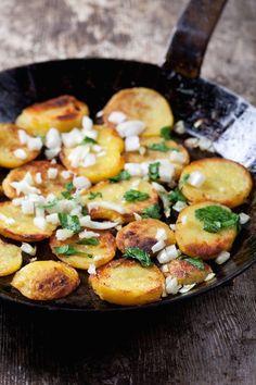 Pommes de terre sautées, pommes de terre rissolées »