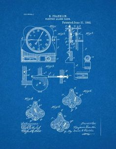 Engine blueprint google search blueprints pinterest engine electrical alarm clock patent print art poster blueprint 24 x malvernweather