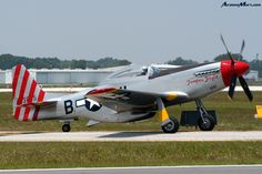 "1965 North American TF-51D Mustang ""Tempus Fugit"""