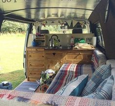 Image result for small spaces ideas for camper vans