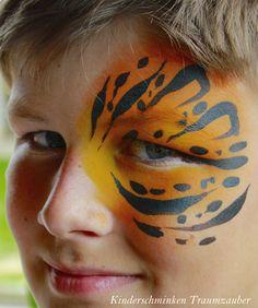 Tiger Maske by Kinderschminken Traumzauber