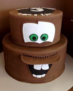 D Tow Mater Cake Pan