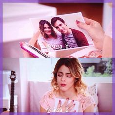 Violetta repense a Leon en voyant une photo ❤❤