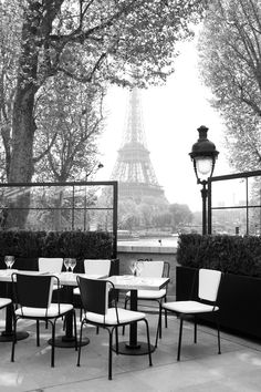 I want to have breakfast in a cafe in Paris, & go people spotting over a croissant and coffee.