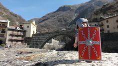 Pons romanus in appellata urbe Pont Saint Martin