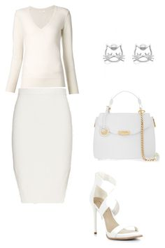 """gyc"" by mironcheva1997 on Polyvore featuring мода, Jonathan Simkhai, Chloé, BCBGMAXAZRIA и Versace"