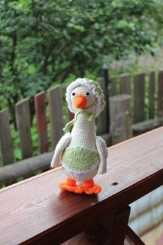Crochet Animals, Crochet Toys, Stuffed Animals, Dinosaur Stuffed Animal, Duck Toy, Crochet Accessories, Stuffed Toys Patterns, Beautiful Crochet, Animals For Kids