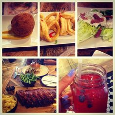 #clapham on Instagram p_weeee new chicago rib shack restaurant... not even sorry. #clapham #london #new #restaurant #yummy
