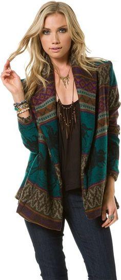 OTIS & MACLAIN NATIVE JACKET > Womens > Clothing > New | Swell.com