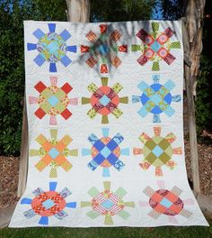 Cactus Needle Quilts, Fabric and More: Cog + Wheel