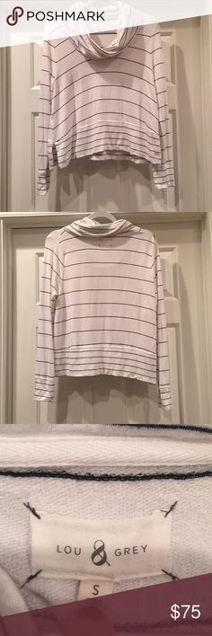 """Lou &grey cowl neck top Used love this gorgeous look.  Super soft material. Measures about 21"""" long Lou & Grey Tops"""