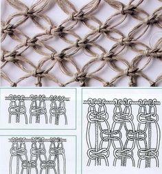 techniques macram cr ation pinterest. Black Bedroom Furniture Sets. Home Design Ideas