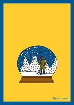 Snow Globe by Federico Monzani