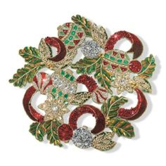 Deck the Halls Beaded Placemat..Absolutely Beautiful!