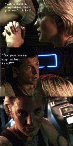 Starbuck & Apollo~~Battlestar Galactica