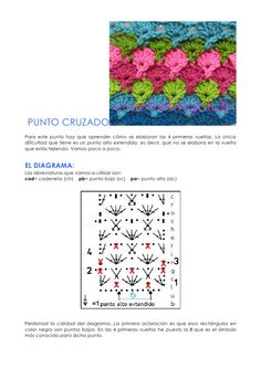 punto-cruzado-tutorial-en-espaol by Crochetingclub Blogspot via Slideshare