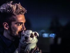 so cute ♥ bill kaulitz & Pumba