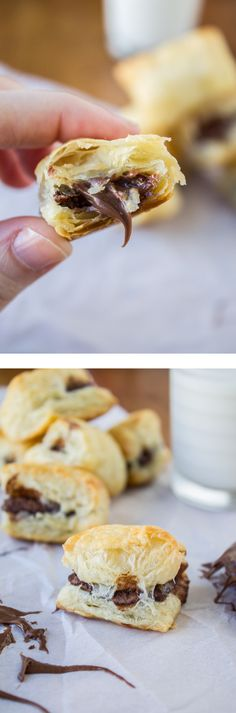 2 Ingredient Nutella Puffs - The Food Charlatan // 15 minutes!