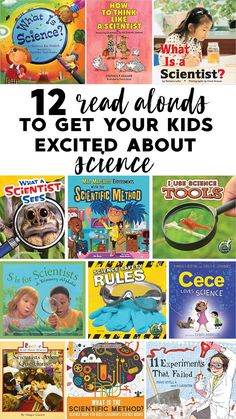 12 awesome read alouds to get your kids excited about science!  Set the stage for science in your K-2 classroom with these read alouds.  Display them in your reading or science center(s), incorporate them into your shared reading time, use them as mentor texts to support your learning.  These books are sure to set the stage for a wonderful year in science and help you establish rules and procedures at the same time!