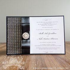 "Wedding Invitation - Design Specs refer to ""Belle.R1"""