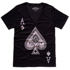 Be An Ace Tee Men's Black