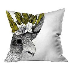 Tropical Papağan Kırlent - Kırlentler - Cipcici Throw Pillows, Animals, Toss Pillows, Animales, Animaux, Decorative Pillows, Decor Pillows, Animal Memes, Animal