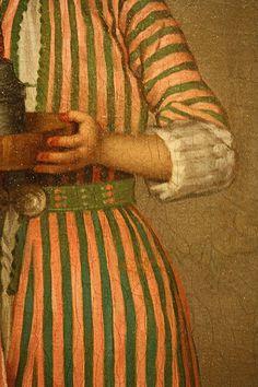 a frankish woman's servant Come A Little Closer, Merovingian, Byzantine, Historical Clothing, Detail, Drapery, Womens Fashion, Lush, Fabric