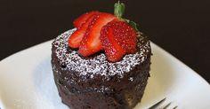 5-Minute Chocolate Mug Cake #recipe #dessert