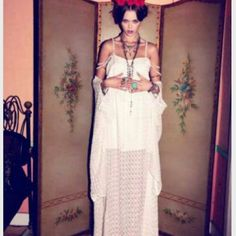 For Love & Lemons VIVA LA VIDA Frida Kahlo maxi GORGEOUS SILK OVERLAY MAXI DRESS FROM FOR LOVE & LEMONS. SIZE SMALL IS BEST FOR US 4; THIS HAS DAINTY MULTIPLE CROCHET LACE STRAPS THAT CAN BE WORN ON OR OFF SHOULDER FOR A MORE DRAMATIC OR SIMPLE LOOK. DRAWSTRING WAIST FOR PERFECT FIT; INNER MINI LINING WITH SHEER SCALLOP PATTERNED SILK OVERLAY. THIS IS MY ONLY ONE! RETAIL $198 PLUS TAX. For Love and Lemons Dresses