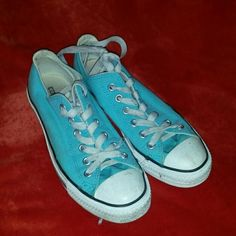 Converse All Star Turquoise Converse Shoes Sneakers