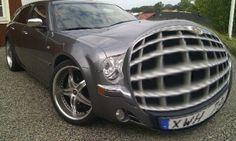 My Chrysler 300c Hemi with extreem need of air ;-)