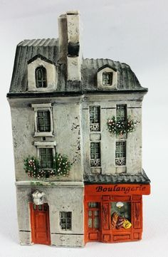 Handpainted French Provence Boulangerie Building by Dominique Gault 210165
