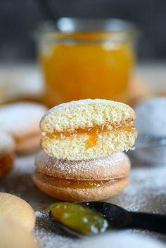 Recette biscuit rond et léger à la marmelade d'oranges