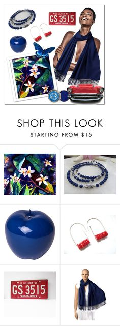 """La vie est Belle ❤️"" by rosa-shawls ❤ liked on Polyvore featuring Lazuli and Bitossi"