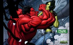 She-Hulk Vs. Rulk wallpaper