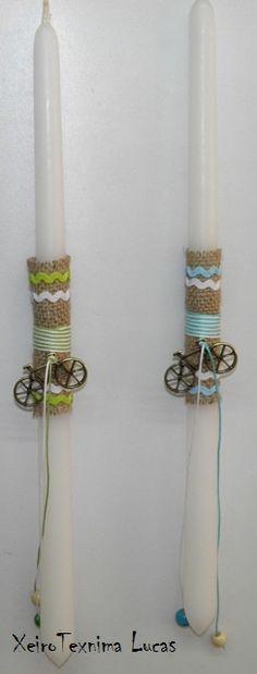 λαμπάδες με ποδηλατα